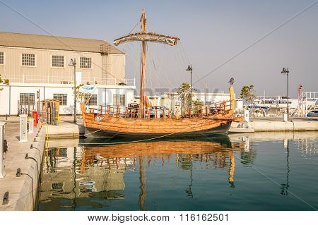 Ancient Ship Replica - Kyrenia Liberty, Cyprus