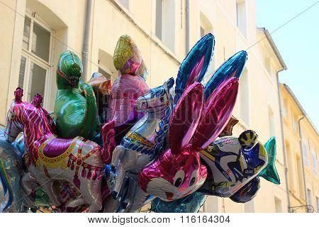 Beautiful Helium Balloons