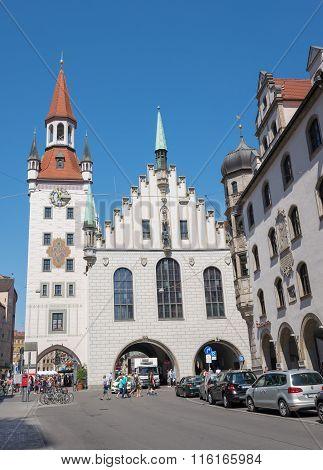 Marienplatz, Munich - Germany