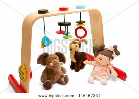 Baby playground - Playing Bridge and soft toys