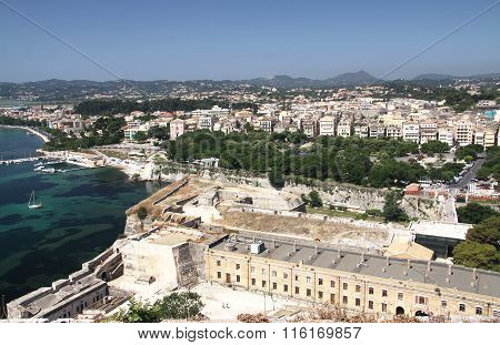 View of The Capital Of The Island Of Corfu