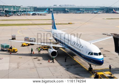 China Southern Airlines On Tarmac