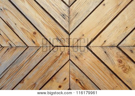 The wood background. Texture plates handmade.