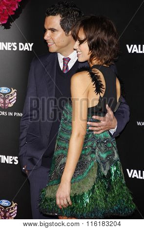 Cash Warren and Jessica Alba at the Los Angeles Premiere of