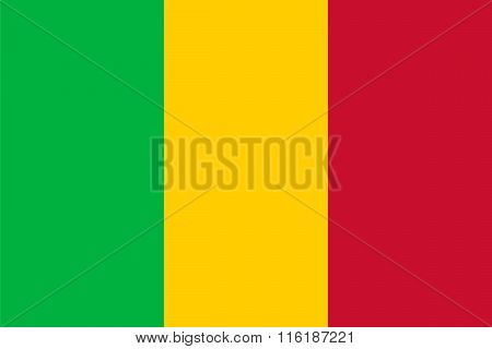 Standard Proportions For Mali Flag