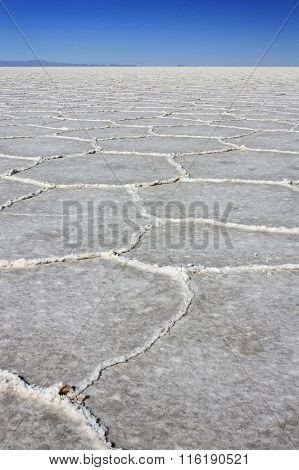 Salt Lakes Bolivia A Remote Place