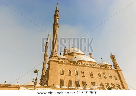 The Mosque Of Muhammad Ali In The Citadel Of Saladin In Old Cairo, Egypt