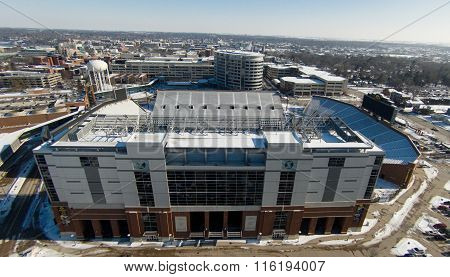 Kinnick Stadium in Iowa City
