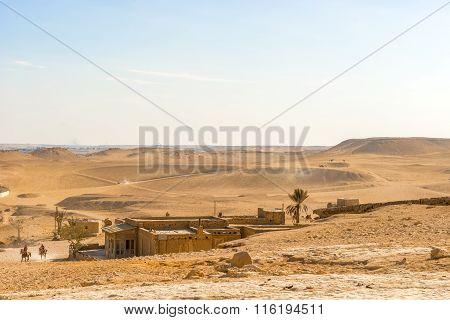 Desrt Landscape In Cairo