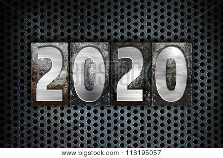 2020 Concept Metal Letterpress Type