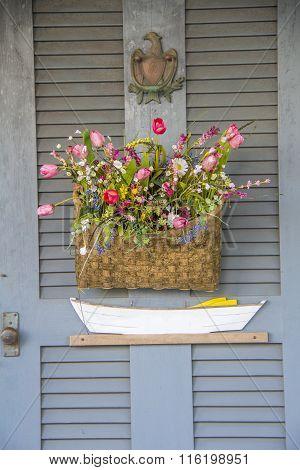 Flower Box - Rustic Door