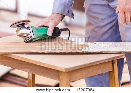 Carpenter Plane Wood For House Construction