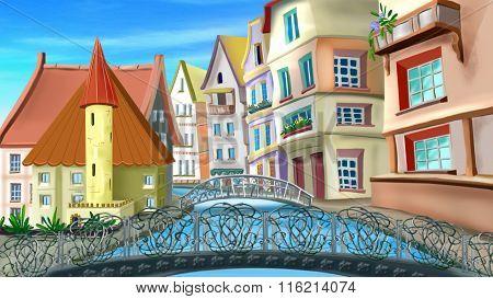 Bridges and Streets of Paris