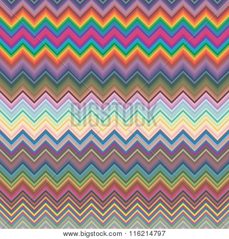 Happy easter day on colorful vector design. Colorful Chevron pattern for eggs. Colorful Chevron patt