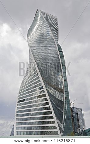 Evolution Tower In Moscow