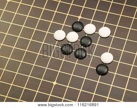 weiqi or GO, the chinese boardgame