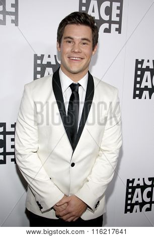 Adam DeVine at the 66th Annual ACE Eddie Awards held at the Beverly Hilton Hotel in Beverly Hills, USA on January 29, 2016.