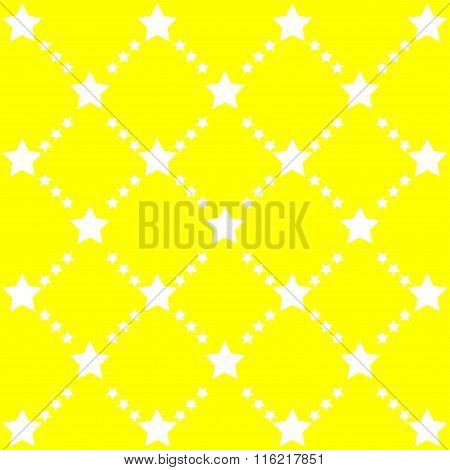 Bright Abstract Pattern With Stars