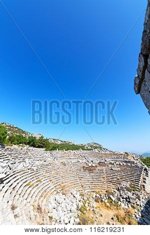 The  Temple   Termessos Antalya   And Ruins