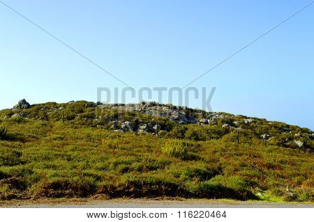 Foia the highest mountain of Algarve in Portugal