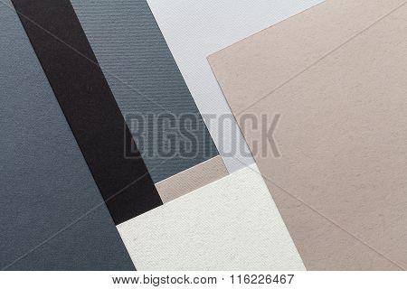 Paper Texture Composition