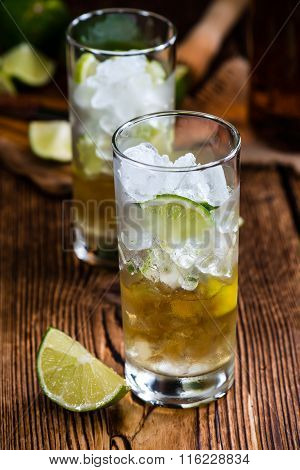 Rum On The Rocks (for A Cuba Libre Longdrink)