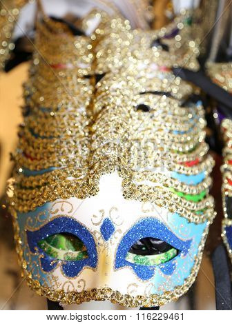 Venice Italy Series Of Carnival Mask For Sale