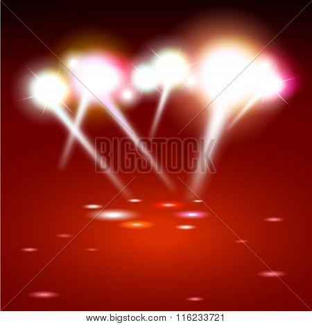 spot lighting background