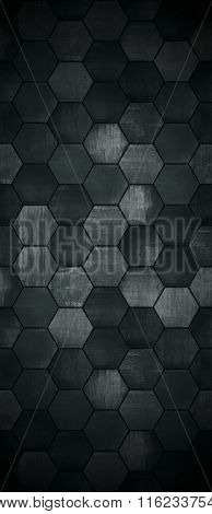 Extra Dark Tall Tiled Background