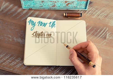 Written Text My New Life Chapter One
