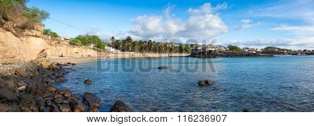 Panoramic View Of Tarrafal Beach In Santiago Island In Cape Verde - Cabo Verde