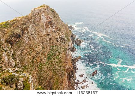 Cape Point Near The Cape Of Good Hope South Africa