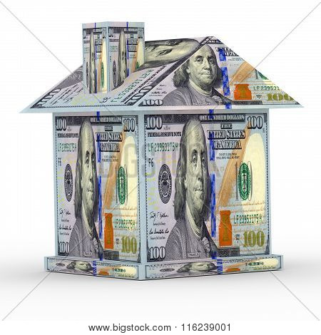 3D House From The Money