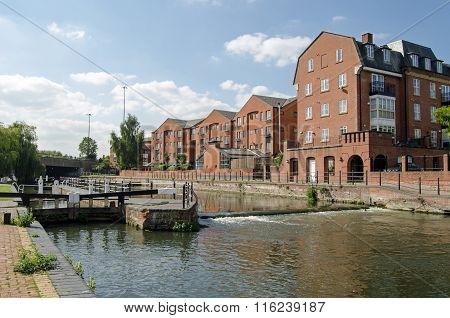 County Lock, Reading, Berkshire