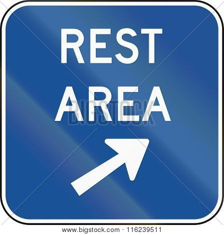 United States Mutcd Guide Road Sign - Rest Area