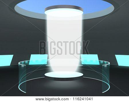 Laboratory Teleportation Portal