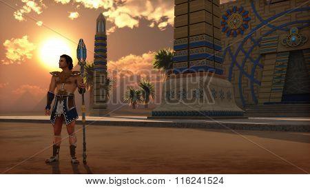 The Guard, 3D Cg