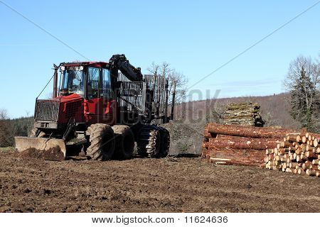 Logging Industry Truck