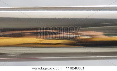 Aluminum And Photographer Reflection