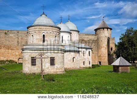 Churches In The Fortress Ivangorod, Russia
