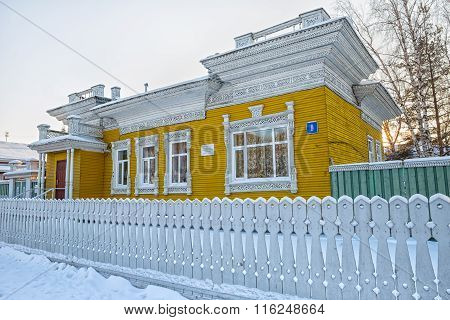 Old Wooden House In Vologda