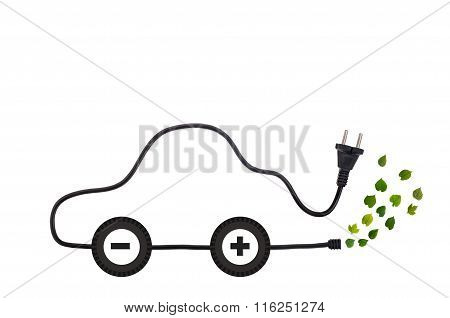 Green Energy Designed Electric Car