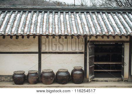 Korea Traditional Houses