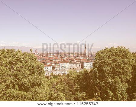 Turin View Vintage