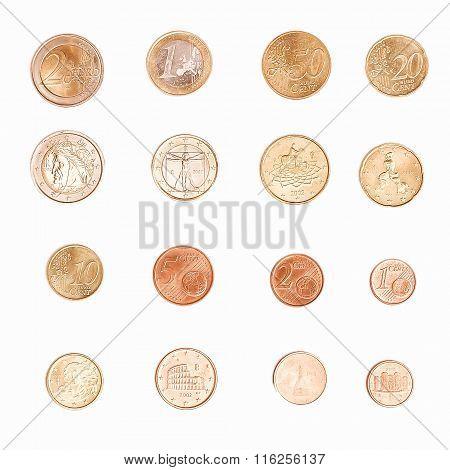 Euro Coin - Italy Vintage