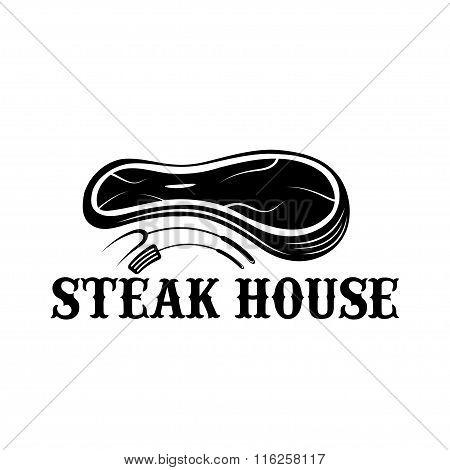 Steak House Vector Design Template