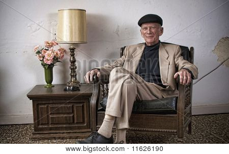 Retired man