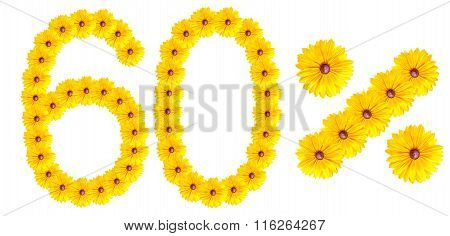 Figures 60% Of The Letters Written By Flowers