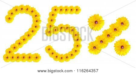 Figures 25% Of The Letters Written By Flowers