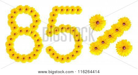Figures 85% Of The Letters Written By Flowers